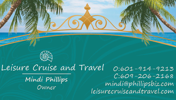 mindi phillips, leisure cruise and travel
