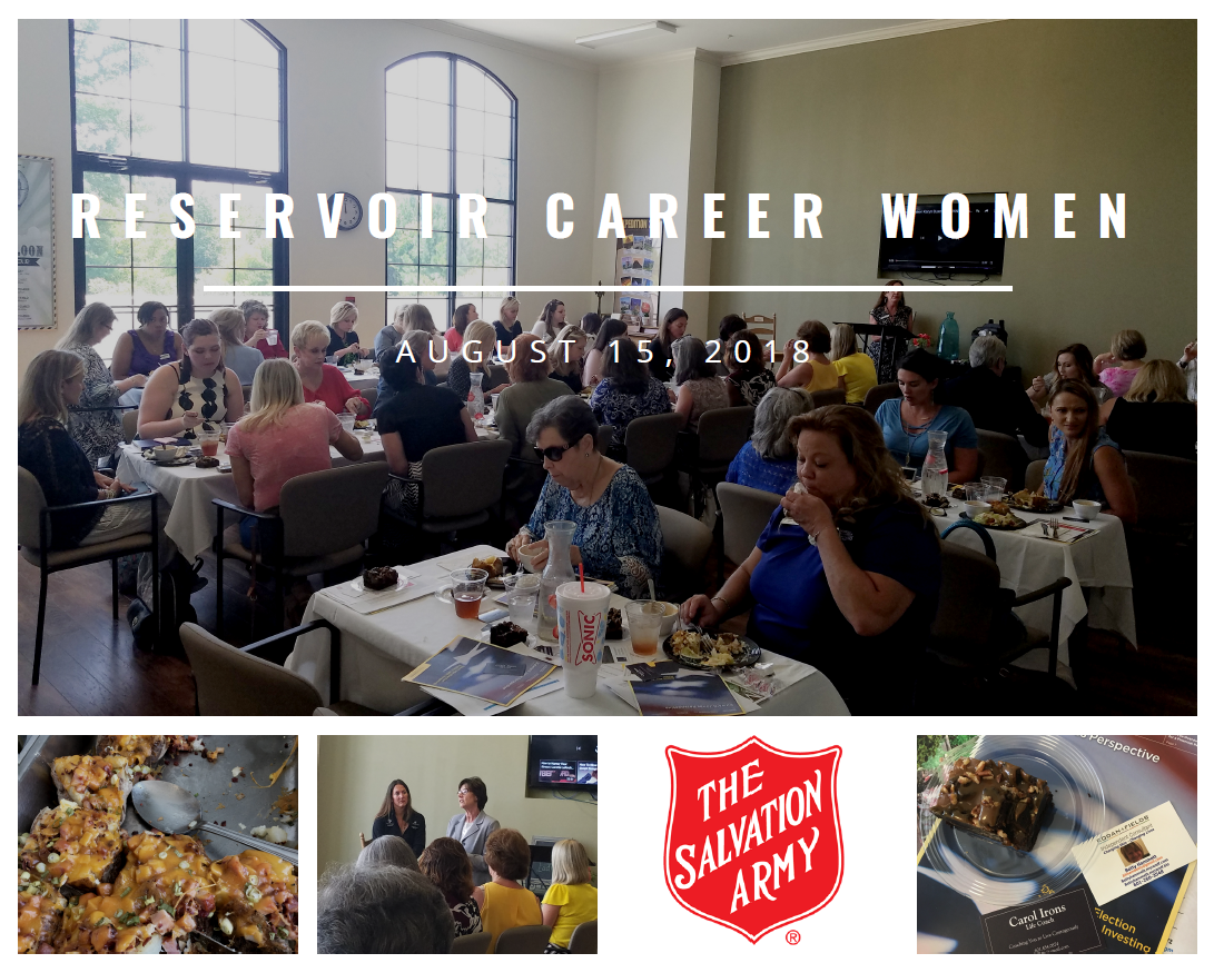 Reservoir Career Women, RCW, 8-15-2018