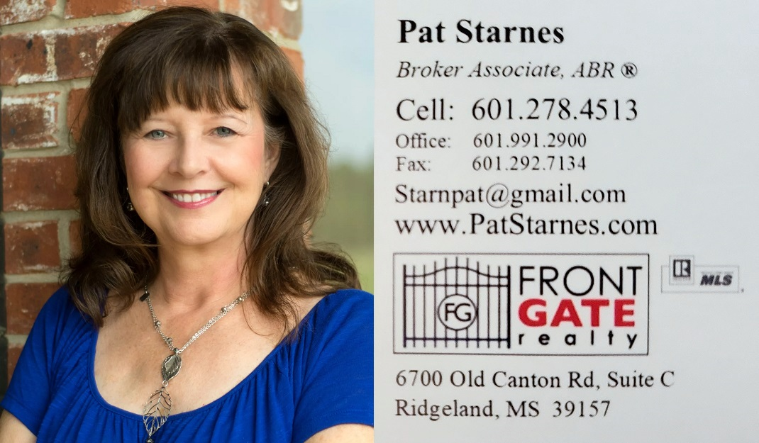 Pat Starnes Business Card