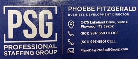 Phoebe Fitzgerald - Professional Staffing Group